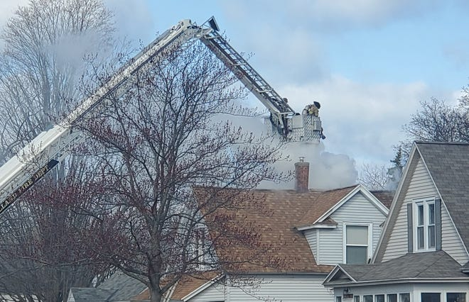 Holland firefighters responded to a residential blaze Thursday, April 1, on 22nd Street. There were no injuries to occupants or emergency personnel.