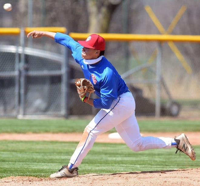 Dodge City pitcher Erubiel Duron throws against Newton Thursday.