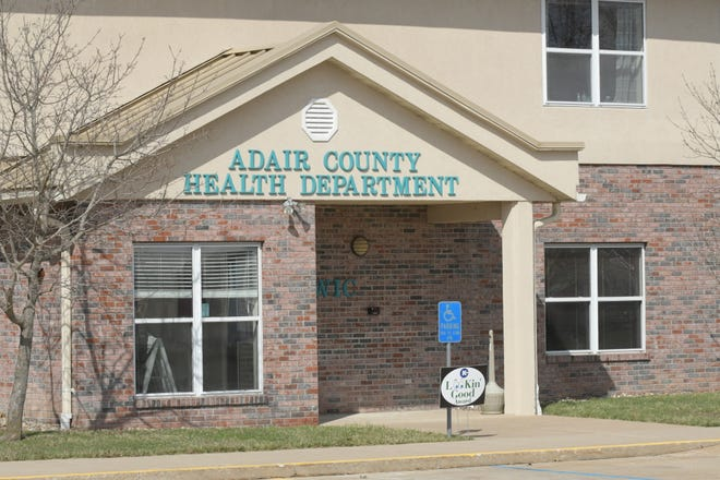 Daily Express photo of the Adair County Health Department's headquarters.