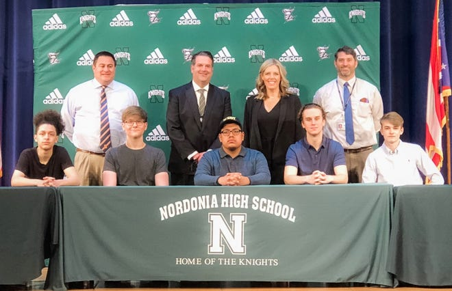Nordonia Hills City Schools recently recognized five students who chose to join the U.S. Armed Forces.