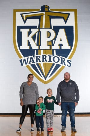 Jake Page, his wife, Mimi, and their children Zuri and Titus recently returned from a trip to Brazil after visiting Mimi's parents, who had COVID-19. As a result, Jake Page had to miss Kingdom Prep's first state championship appearance.