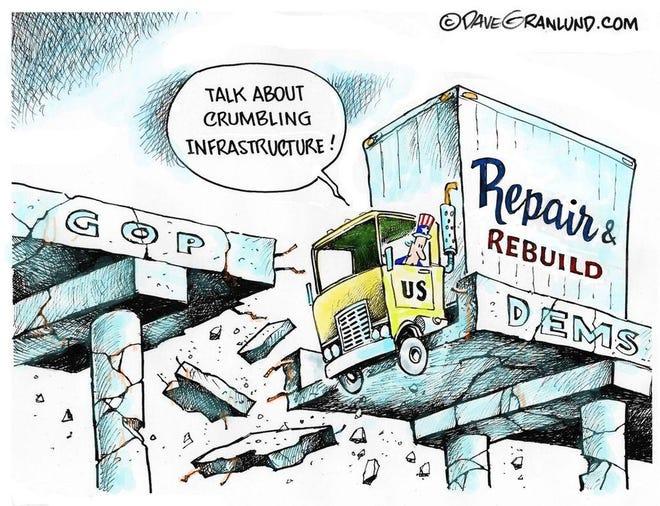Today's editorial cartoon (April 4, 2021)