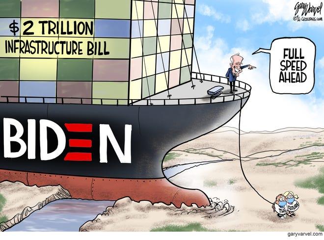 Today's editorial cartoon (April 3, 2021)