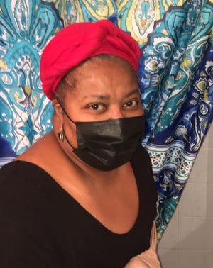 Belinda Harvey now has a hot water heater, so she can take hot showers. But she still needs help with other home improvements.