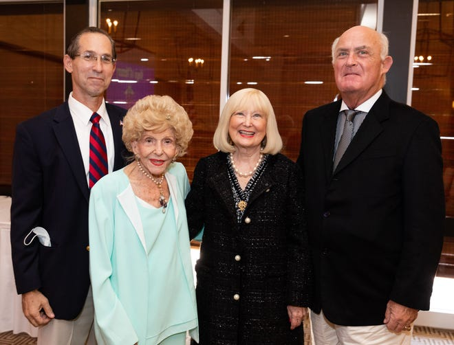 Dr. Eric Kramer, Herme deWyman Miro, and Peggy and Bill Johnson
