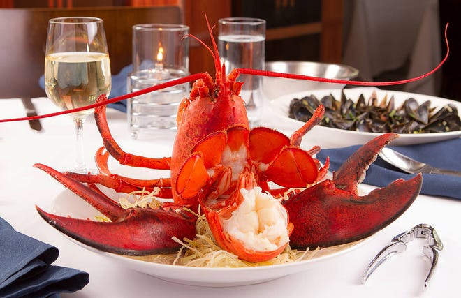 Lobster will be featured Tuesday night in a variety of dishes at PB Catch.