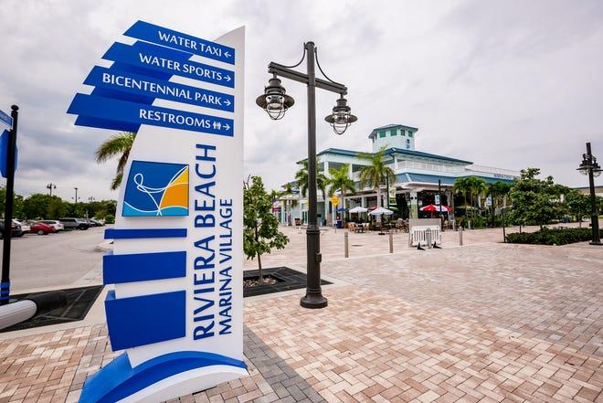 The marina event center at Riviera Beach Marina Village.