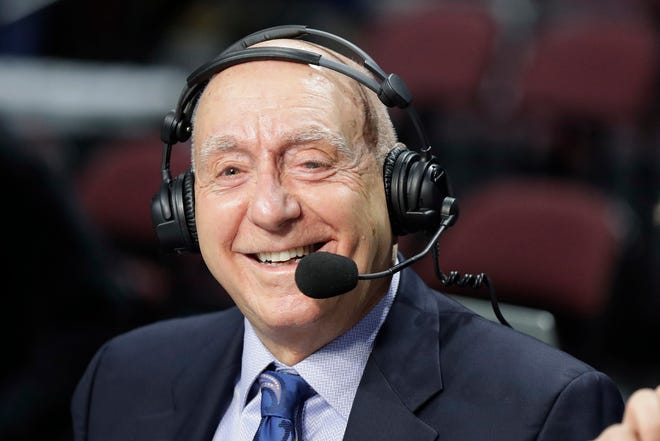 ESPN college basketball analyst Dick Vitale has reached an agreement with the network on a two-year contract extension which will take the 81-year-old through the 2022-2023 season.