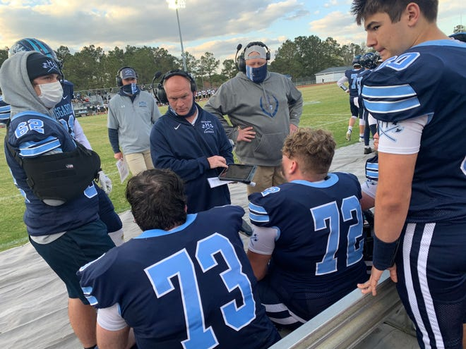 Coach Craig Underwood and his Hoggard football team finally get to join the playoffs Friday, against one of the top teams in the state in Rolesville.