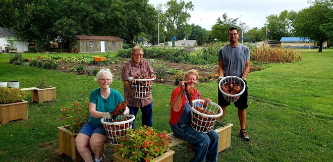 Arma Community Garden is able to provide free food to the community thanks to help from volunteers.