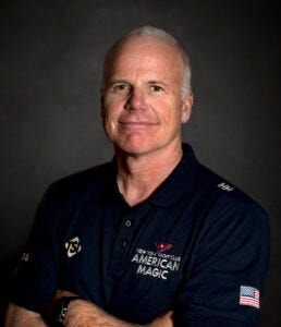 Mystic Seaport Museum will present its 2021 America and the Sea Award to Terry Hutchinson, a respected sailor in the yacht racing circuit and most recently the skipper, executive director and tactician for the New York Yacht Club American Magic campaign for the 36th America's Cup.