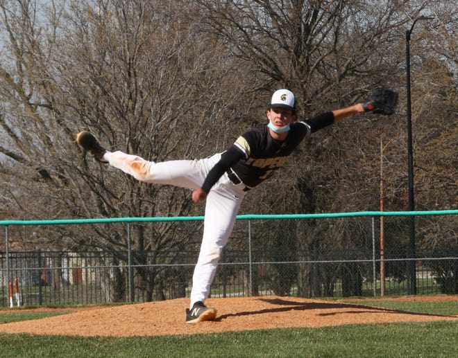 Topeka High junior Max Colombo has been unhittable through two outings this season, following up his share in a perfect game on Monday with a five-inning no-hitter in a 10-0 win over Topeka West on Thursday. Colombo struck out 11.