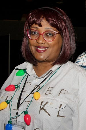 """The manager of the Gadsden Public Library's East Gadsden branch, LaShunda Williams recently was selected from a nationwide pool as one of 30 """"Library Outfielders"""" by the Association of Small and Rural Libraries in partnership with the American Library Association."""