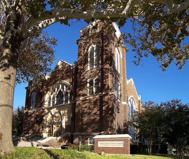 Central Presbyterian Church in Waxahachie.