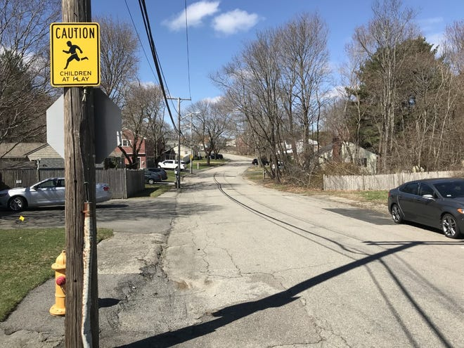 Some homeowners on Merrymount Road say the narrow street has become a heavily used cut through by drivers seeking to avoid a traffic light at Ralph Talbot and Pine Street or to access businesses in Hingham and Rockland.