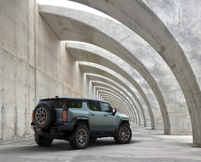 GMC revealed the upcoming 2024 Hummer EV SUV on April 3, 2021. The Edition 1 starts at just over $105,000.
