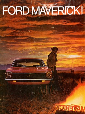 The cover of a 1979 Ford Maverick brochure.