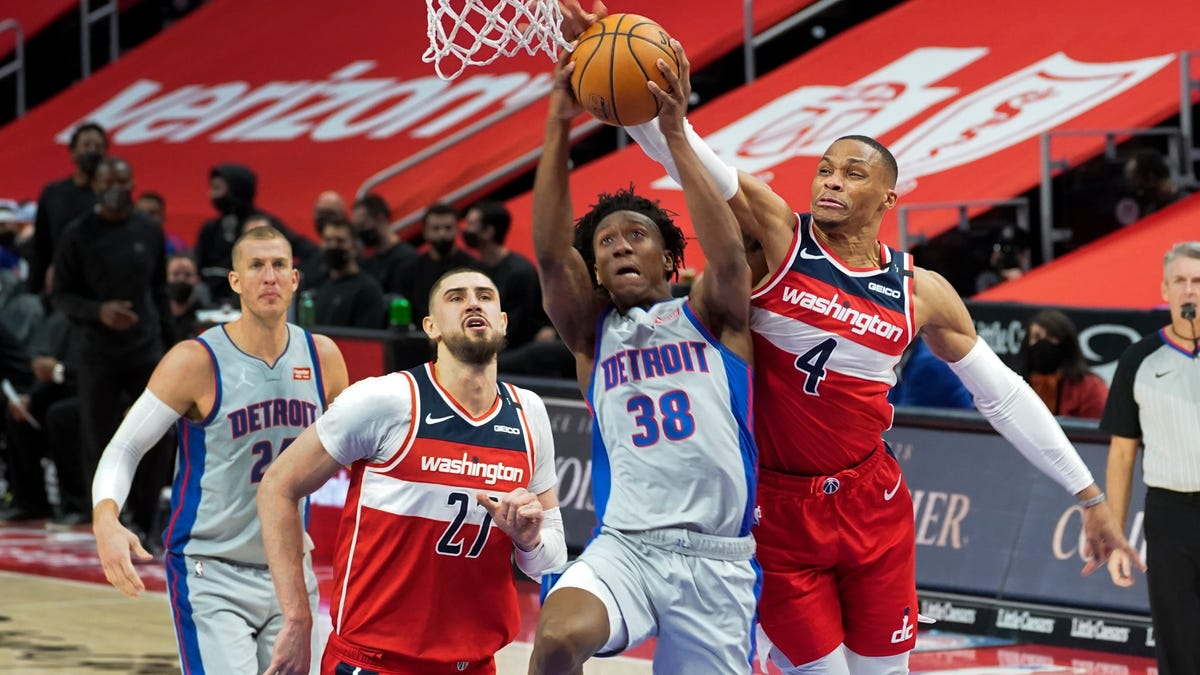 Jackson, Bey recover to lift Pistons 120-91 over Wizards 2