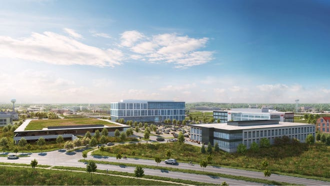 Irgens plans to build a two-story, 53,000-squar-foot office building and a six-story, 197,000-square-foot office building, along with a two-story parking garage, all at the UWM Innovation Campus in Wauwatosa.