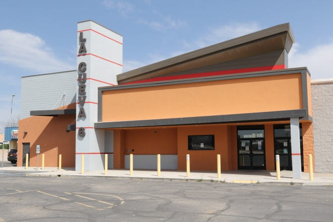 The La Cueva 6 movie theater is pictured, April 2, 2021 in on Pierce Street in Carlsbad. Allen Theaters announced it was planning to reopen several theaters in New Mexico as the state recovers from the COVID-19 pandemic.