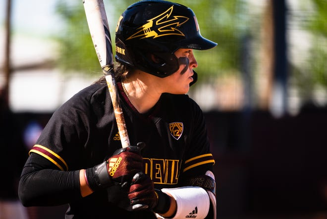 Maddi Hackbarth hit her ninth career home run against Utah on Thursday in No. 14 Arizona State's 9-1 win.