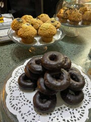 Along with coffee, Ventnor Coffee serves sweets like donuts and muffins.