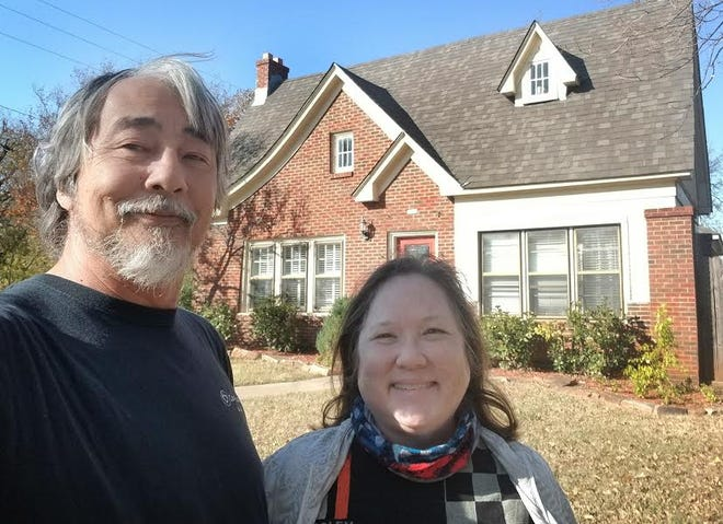 Ex-Californians Tom and Pam Tudor are two of Wichita Falls' newest residents.