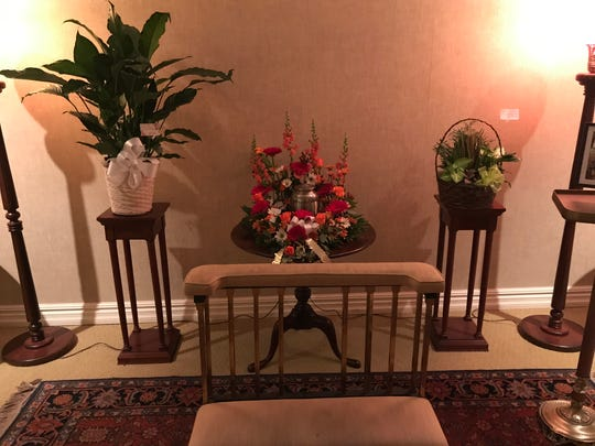 The wake for Tom Keveney, who died April 6, 2020, was held at a Hamden, Conn., funeral home almost seven months later on Oct. 31, followed by a funeral Mass and burial.