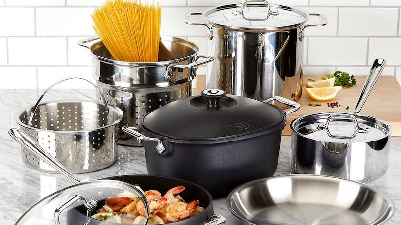 All-Clad cookware can be yours for up to 82% off at the VIP Factory Seconds Sale