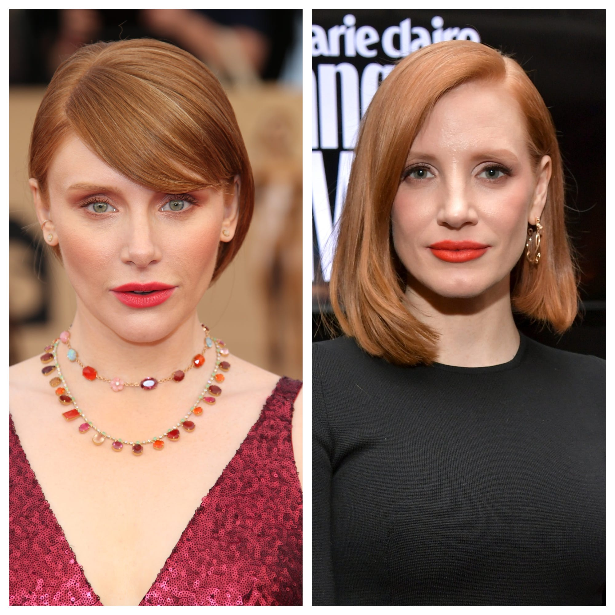 Jessica Chastain is not Bryce Dallas Howard from  Jurassic World. Watch her hilarious TikTok.
