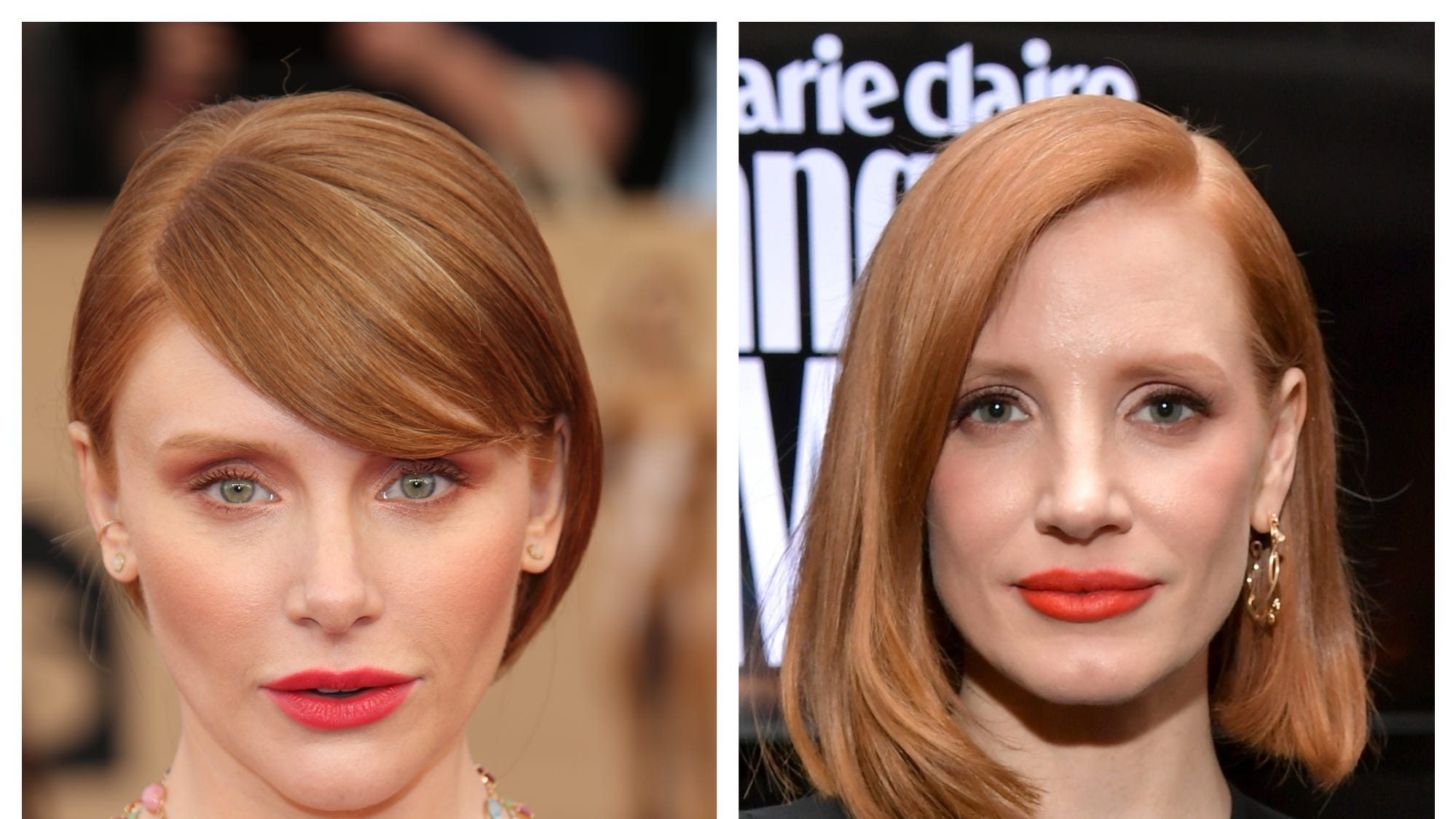 Jessica Chastain is not Bryce Dallas Howard from 'Jurassic World.' Watch her hilarious TikTok. - USA TODAY