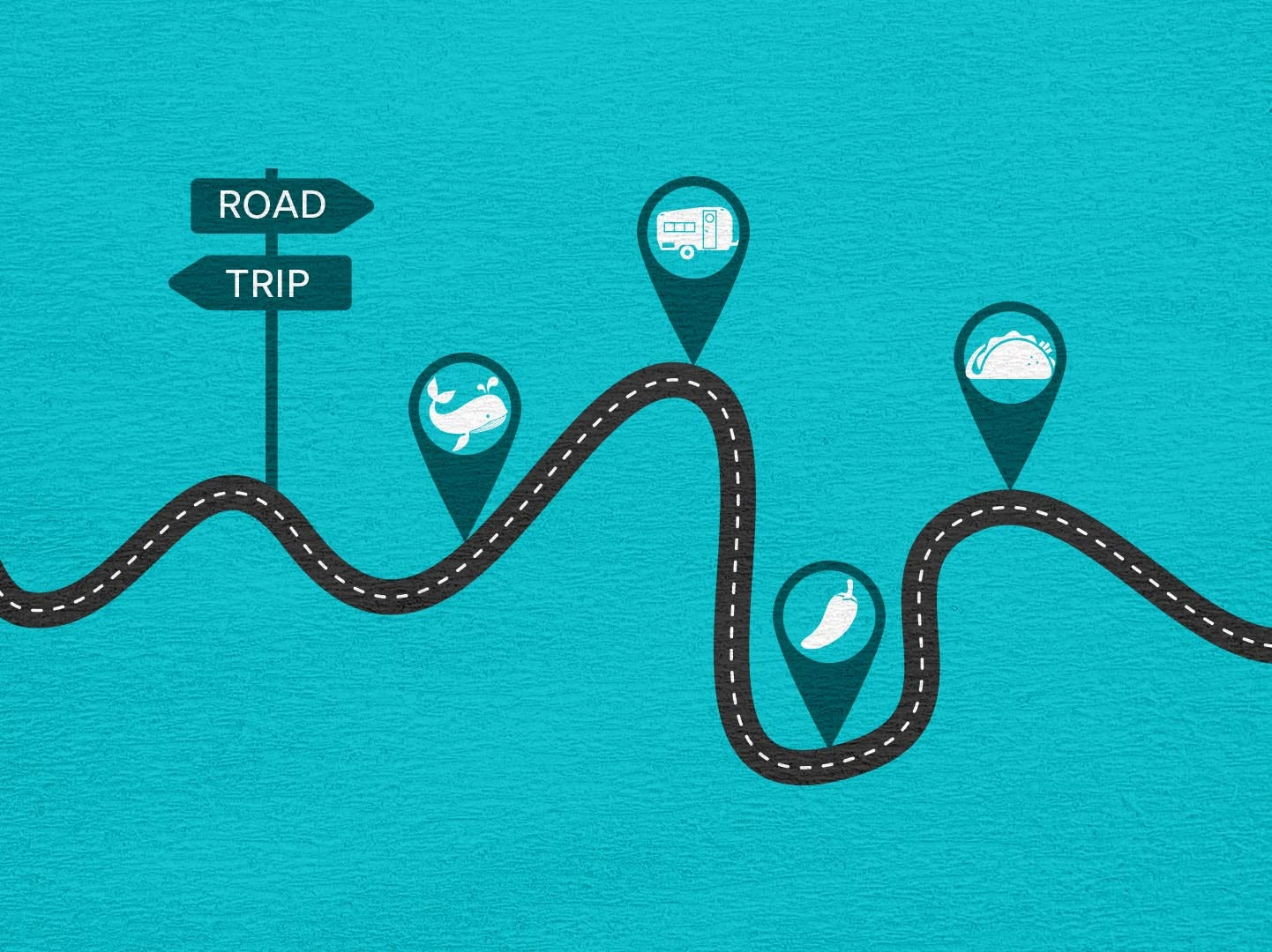 Amp up your next road trip by choosing a theme