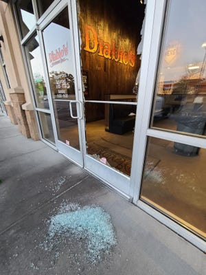 An intruder broke the door of the Diablo's on Wheeler Road. The owner has offered him a job instead of pressing charges.