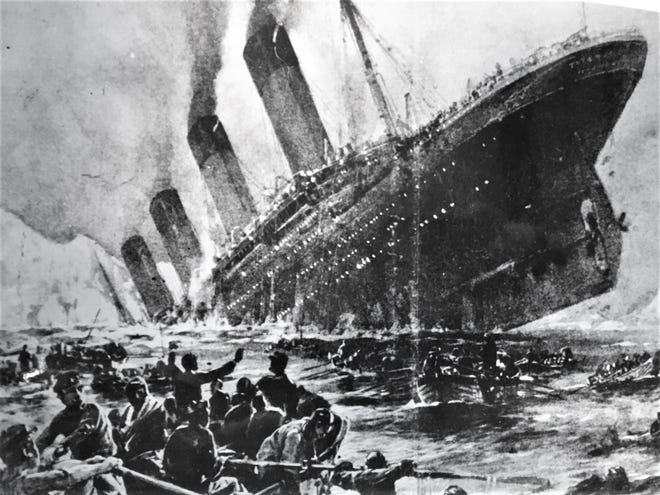 An Augusta native was among those killed when the Titanic sank April 15, 1912.