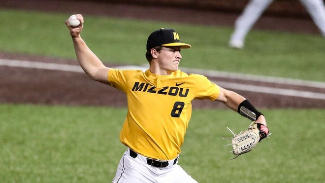 Missouri starter Seth Halvorsen pitched a career-best seven innings Friday night against Texas A&M, allowing just two runs on two hits while striking out 10.