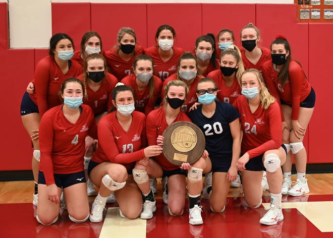 The Carl Sandburg College volleyball team punched its ticket to the NJCAA Division II National Championships with a 22-25, 25-14, 25-23, 26-24 victory over Triton on Friday in the championship match of the Region IV District B tournament.