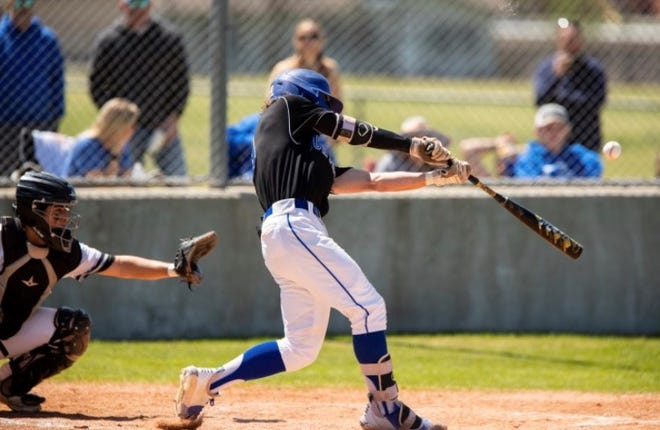 Gunter's Garrett Vogel homered during the Tigers' win against Howe in District 11-3A action.