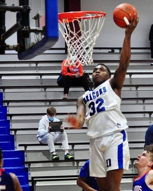 DeRidder powerhouse Derron Griffin (32) was named to the Class 4A all-state team as an honorable mention pick.
