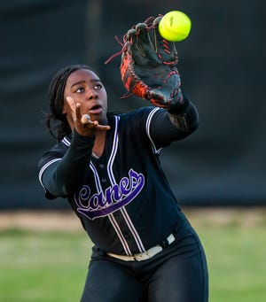 Gainesville High junior Parris Wiggs has helped the Hurricanes win a district title and a home date in the high school softball playoffs.