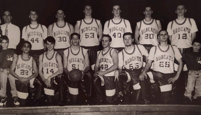 The Oyster River High School boys basketball team won back-to-back Class I titles from 1994 to 1996, the last team at the school to win a title.