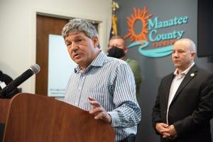 Manatee County Administrator Scott Hopes.