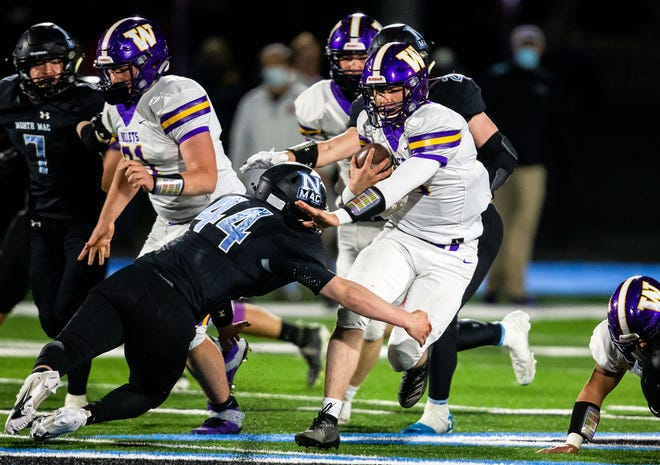 Williamsville High School's Conor McCormick is The State Journal-Register's Small School Football Player of the Year. [JUSTIN L. FOWLER/THE STATE JOURNAL-REGISTER]