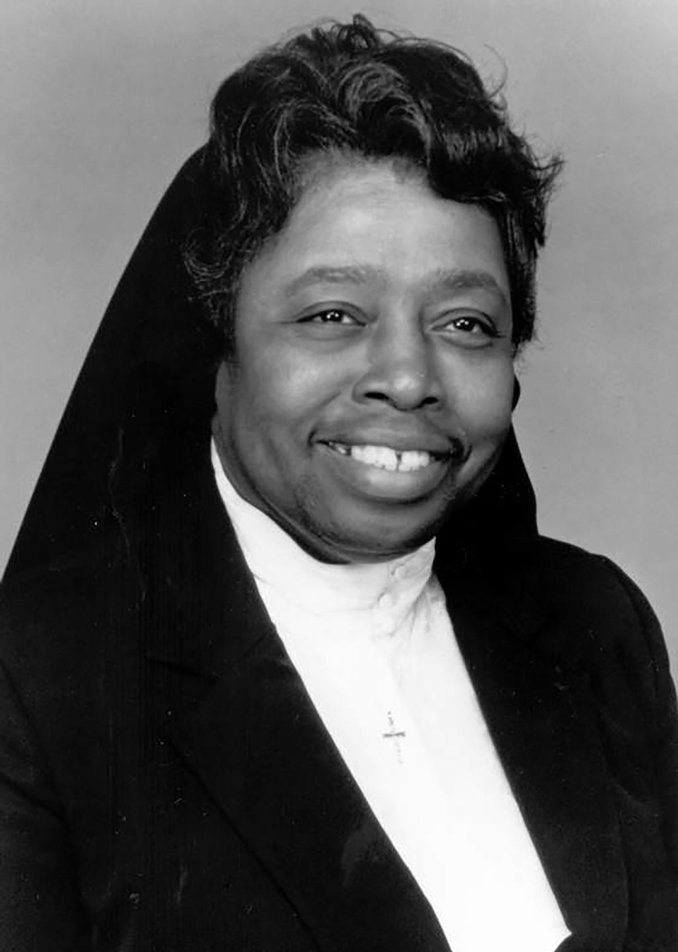 Sister Mary Charlotte Marshall, now 93, taught at Our Lady of Victory Catholic School, once located near 8 Mile and Wyoming in Detroit. She is a member of the first congregation for women of color in the United States, founded in Baltimore in 1829. The school was established in the 1940s to teach Black students who lived in Detroit and in Royal Oak Township, across 8 Mile from the parish and school.