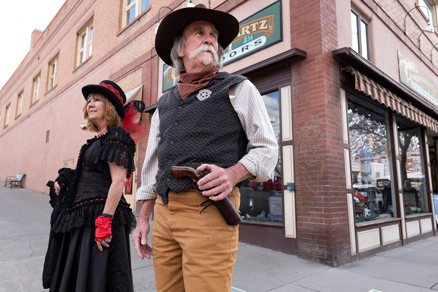 Durango's COVID 'Cowboy' rounds up spring break scofflaws, lines 'em up for shots 2