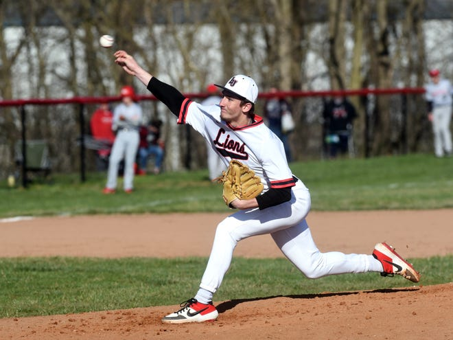 Liberty Union junior pitcher Jacob Miller pitched a no-hitter and struck out 21 batters in a 2-0 win over Circleville.
