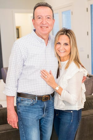 Howard Wagerman and Mindy Okeon love their new home.