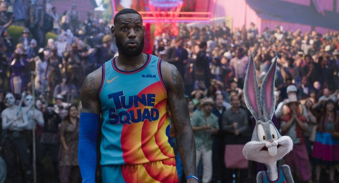 """Lebron James stars in """"Space Jam: A New Legacy"""", out July 16."""