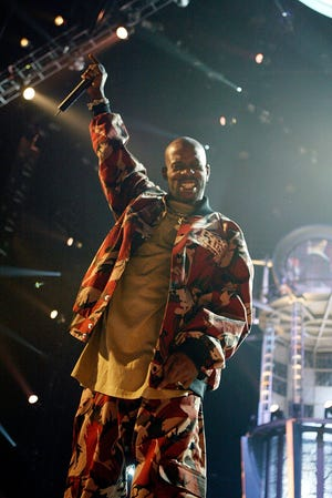 DMX performs at the first Video Game Awards at the MGM Grand Garden Arena on Dec. 2, 2003, in Las Vegas.