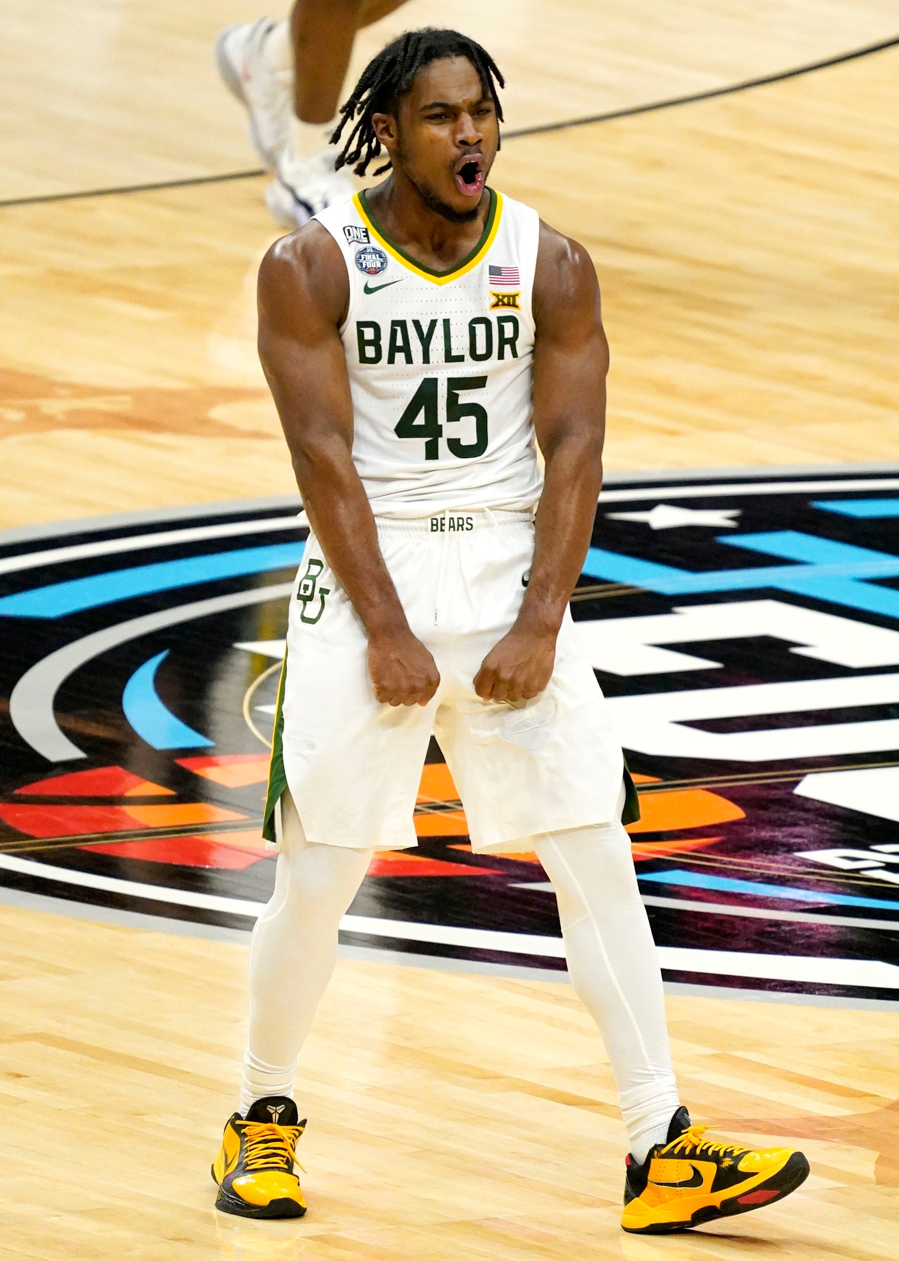 Opinion: Baylor men find three-point rhythm against Houston in Final Four and look even more lethal