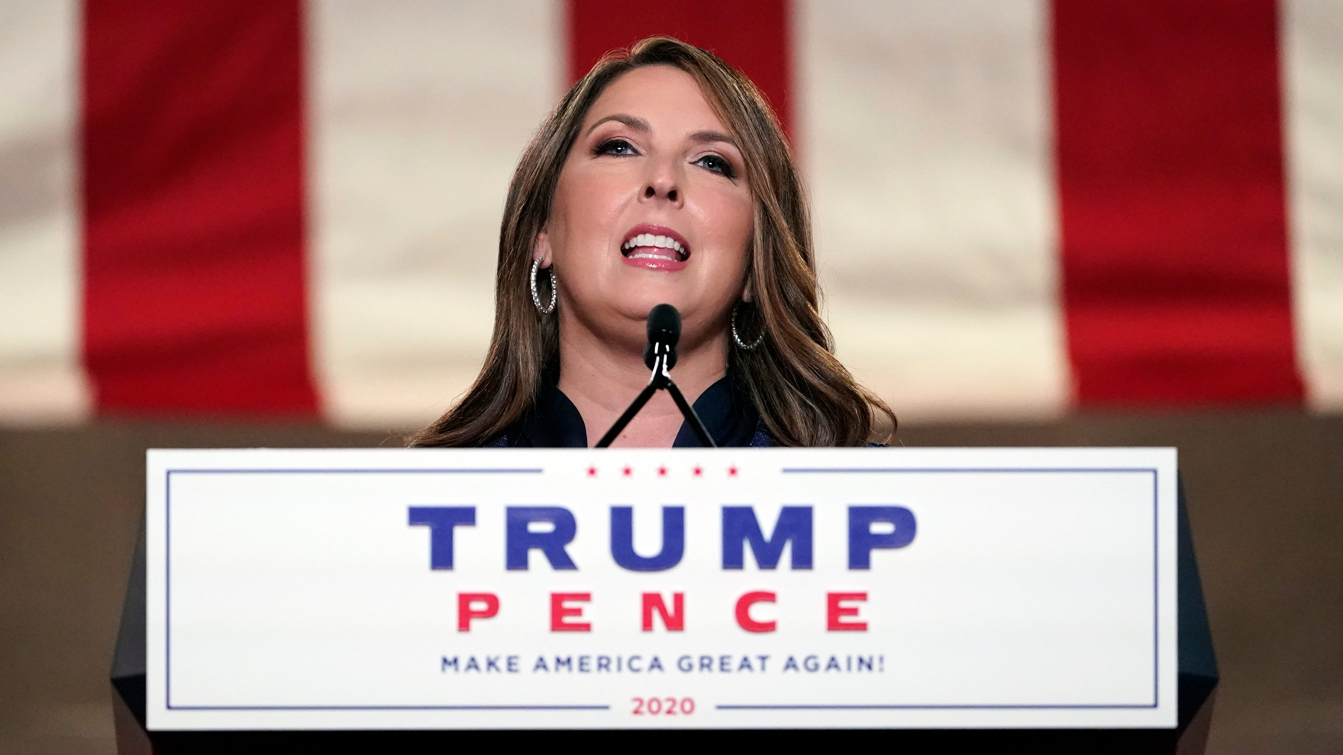 RNC chair declares she s  Not watching baseball!!!!  on Opening Day after MLB moves All-Stage Game from Atlanta